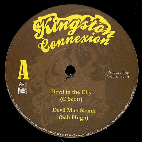 Calman Scott Devil In The City