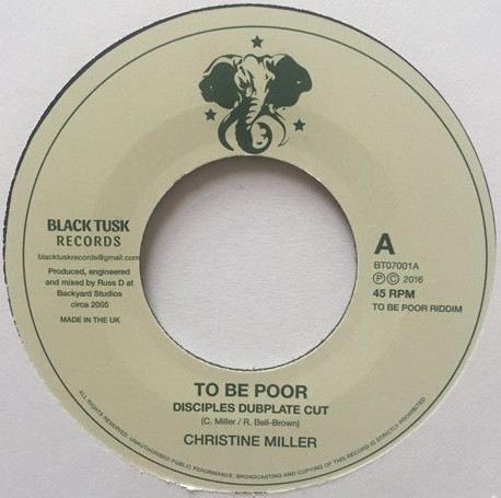 christine miler to be poor is a crime