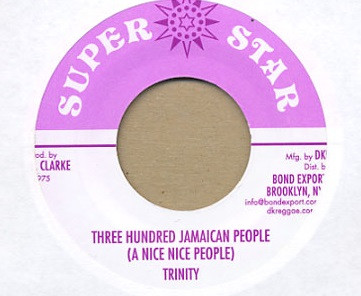 trinity three hundred jamaican people