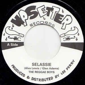reggae boys sellasie