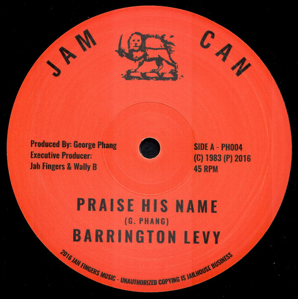 BARRINGTON LEVY PRAISE HIS NAME