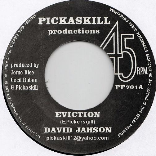 DAVID JAHSON EVICTION