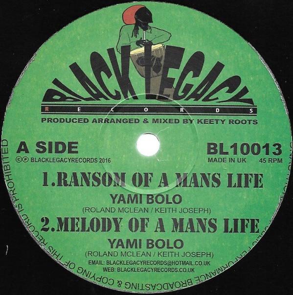 YAMY BOLO RAMSON OF MAN LIFE