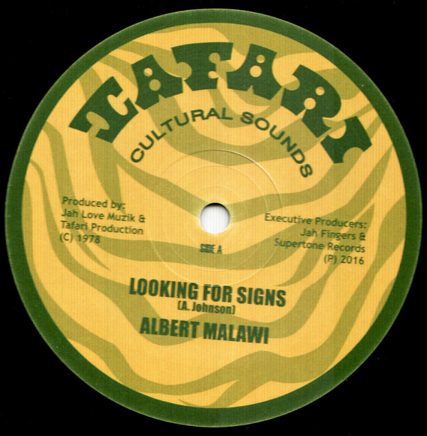 ALBERT MALAWI LOOKING FOR SIGNS