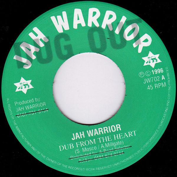 JAH WARRIOR DUB FROM THE EARTH