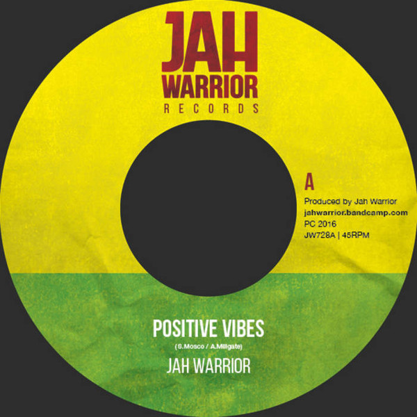 JAH WARRIOR POSITIVE VIBES