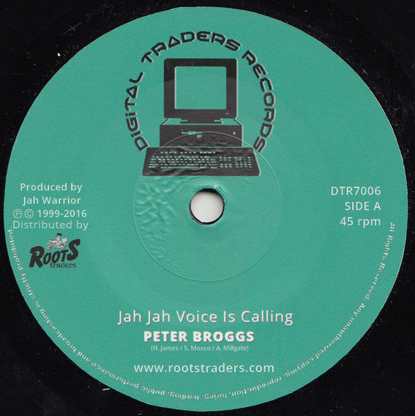 PETER BROGGS JAH JAH VOICE IS CALLING ROOTS TRADER DUBPLATE MIX
