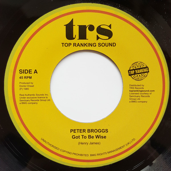 peter broggs got to be wise image