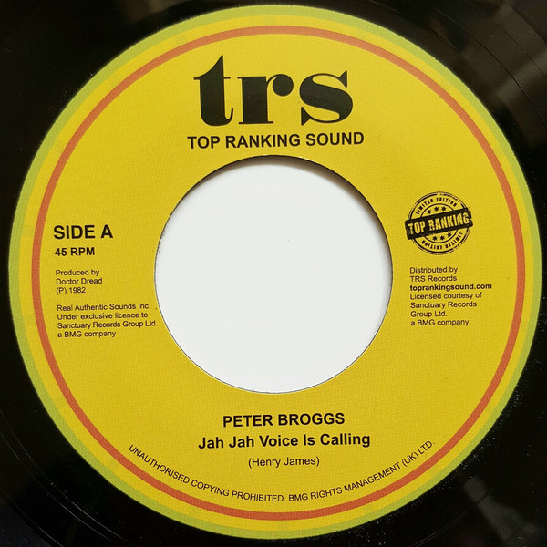 peter broggs jah jah voice is calling image