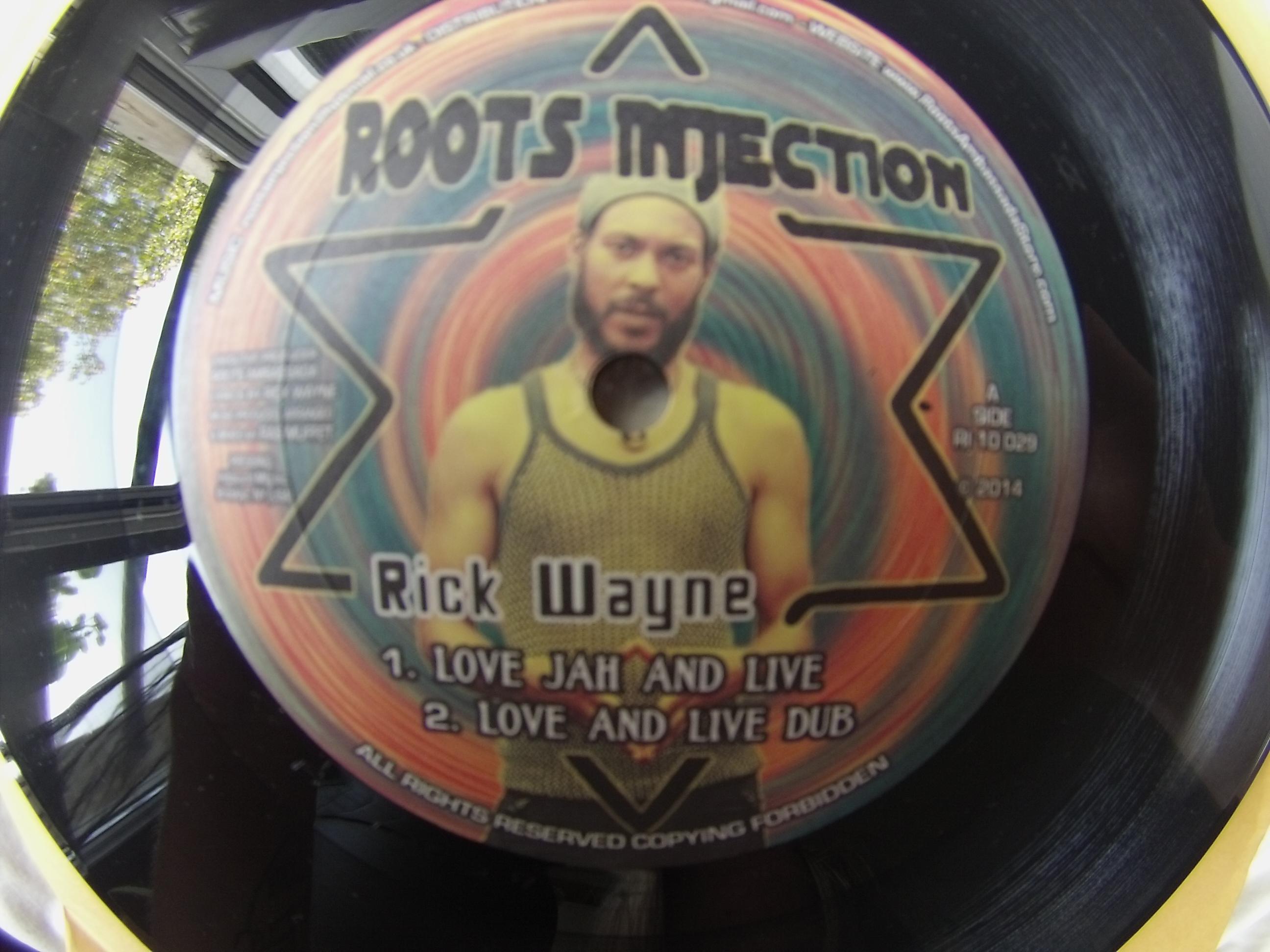 "RICK WAYNE - Love jah and live (Roots injection ) 10"""